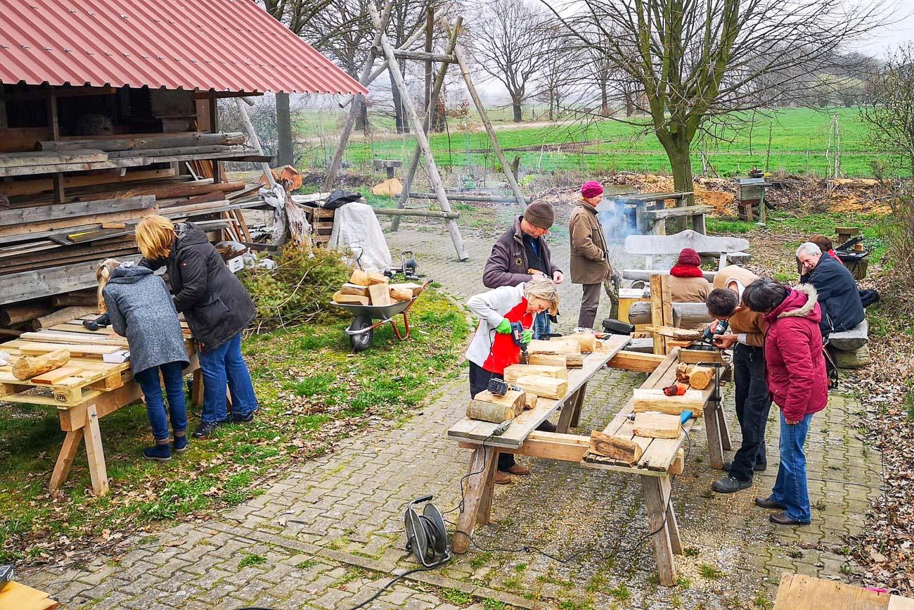 Lüneburg, BienenBürger, Insektenschutz, Nisthilfen